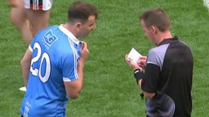 Costello is booked by McQuillan