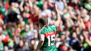 Andy Moran had a brilliant year for Mayo