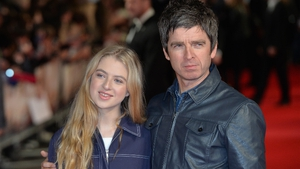 Anais pictured with her dad, Noel