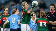 Cora Staunton in action against Dublin earlier this year