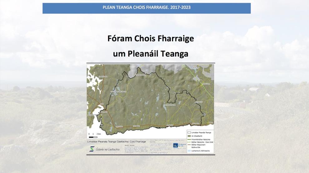 Nuacht an Iarthair: Breis maoinithe do Phleanáil Teanga