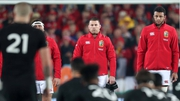 Sean O'Brien stares down the All Blacks