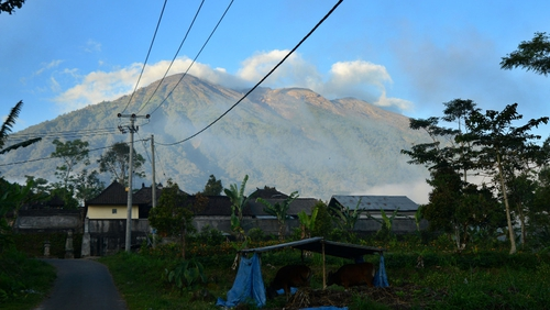 Alert status for Mount Agung is at 3