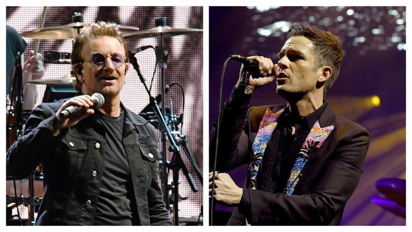 Brandon Flowers - ''Bono is someone I would look to for guidance""