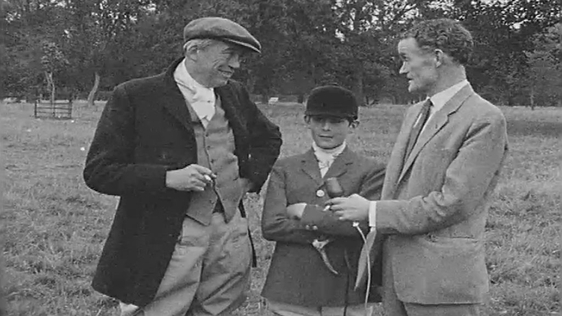 John Huston, Tony Huston and Seamus Kelly (1962)