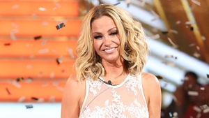 Celebrity Big Brother winner Sarah Harding for The Ray D'Arcy Show