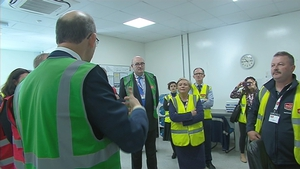 European Agriculture Commisioner Phil Hogan was among those at the opening