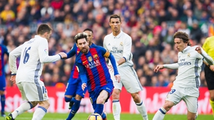 Cristiano Ronaldo and Lionel Messi will be vying for the top award