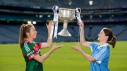 Rivals - Sarah Tierney of Mayo and Dublin's Sinead Aherne