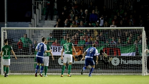 Shane Tracy's free kick put Limerick 2-0 up