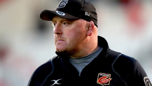 Bernard Jackman pictured during his spell with the Dragons