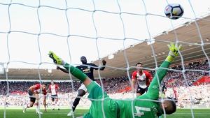 Romelu Lukaku scored after 20 minutes