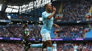 Raheem Sterling was on the mark for Manchester City