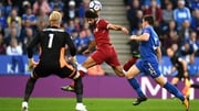 Mohammad Salah headed Liverpool into the lead