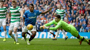 Craig Gordon came to Celtic's rescue during the Old Firm derby