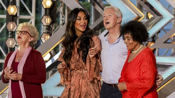 Judges Nicole Scherzinger and Louis Walsh joined in one of the auditions