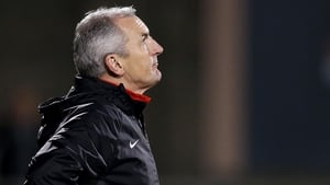 John Caulfield: 'I want our lads to go out and give a performance.'