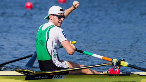 Paul O'Donovan will team up with 22-year-old Fintan McCarthy