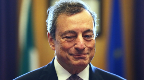 ECB chief Mario Draghi has stressed that low profitability at banks is 'not an inevitable consequence of negative rates'
