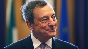 Former European Central Bank Chief Mario Draghi