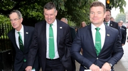 Ireland's Rugby World Cup bid team arrive for business