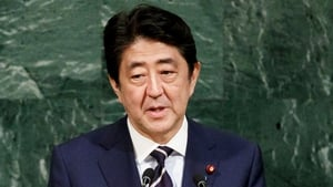 Shinzo Abe has seen a boost in the polls recently