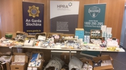 The drugs were secured in an operation which involved the HPRA, the Revenue's Customs Service, and An Garda Síochána
