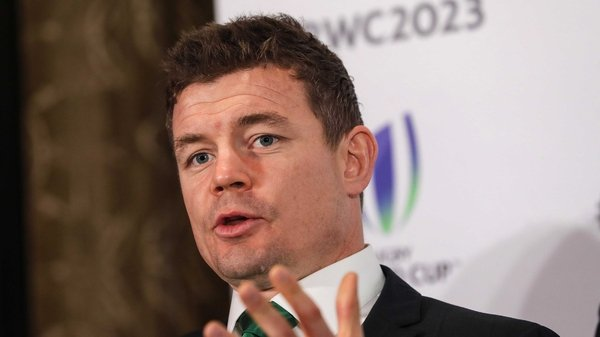 Brian O'Driscoll speaking at today's press conference