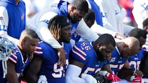 Players all across America took to one knee over the weekend as a form of protest