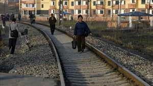 Daily life in Pyongyang. Photo: EPA/Franck Robichon
