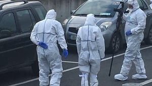 State Pathologist Dr Marie Cassidy at the scene in Skibberreen where gardaí are investigating