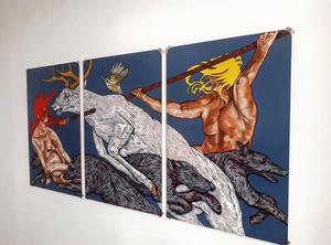 John Flynn - Winner of NUA Fine Artist.