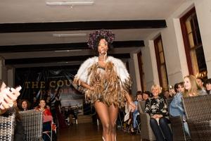 Winning Model Yesunia wearing Calleach by Candy Warhol.