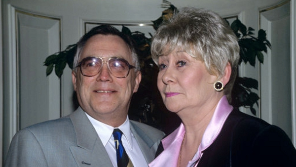 Liz Dawn and Bill Tarmey aka Vera and Jack Duckworth