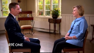 Ryan met Hillary Clinton near her home in Chappaqua, upstate New York