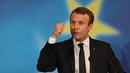 Emmanuel Macron proposed a single EU corporate tax band by 2020