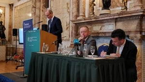 Minister for Foreign Affairs Simon Coveney launched the 2016 Irish Aid report (Pic: @dfatirl)