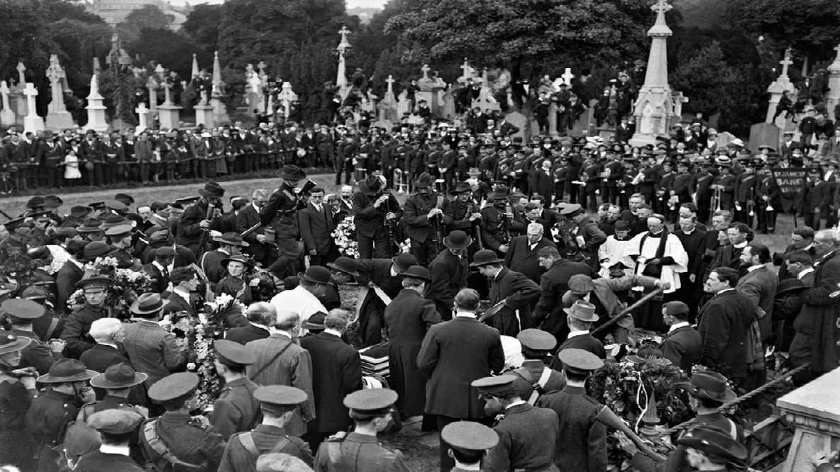 Funeral of Thomas Ashe