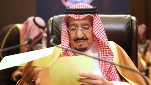 Saudi Arabia's King Salman wants to discuss 'recent aggressions' in the Gulf
