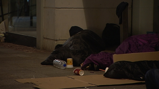 40% decrease in number of rough sleepers in Dublin