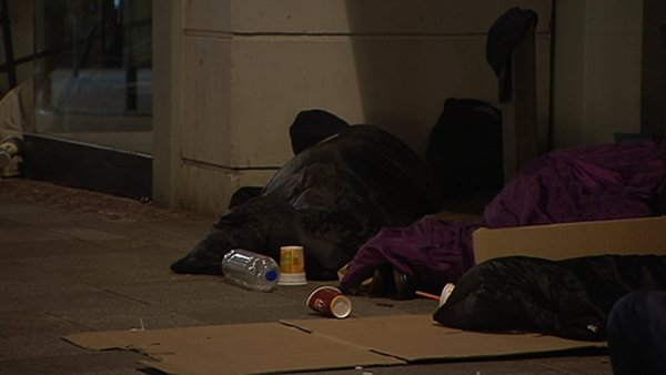 The latest rough sleeper count shows the number of people sleeping rough dropped from 184 last winter to 110