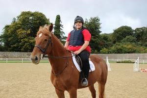 horseriding challenge Kayleigh Cullinan
