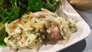 Smoked Salmon & Potato Gratin