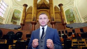 Carl Frampton will have his first fight under Frank Warren in November