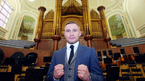 Frampton's first fight under Warren to take place in Belfast in November