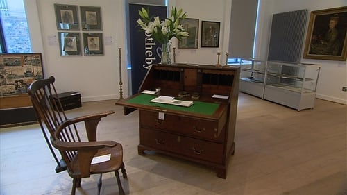 WB Yeats writing desk was sold for €170,000