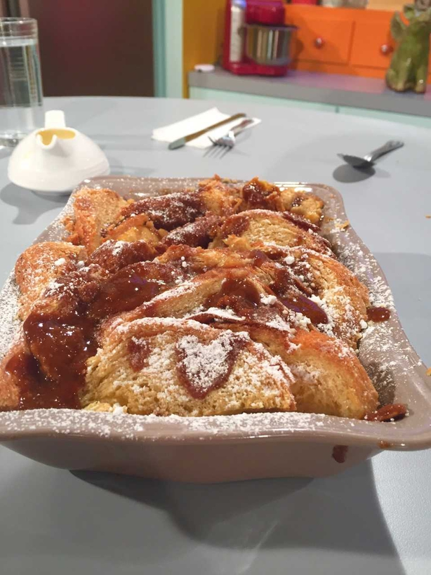 Aoife's Toffee Apple Bread & Butter Pudding