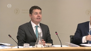 Finance Minister Paschal Donohoe is before the Finance Committee today