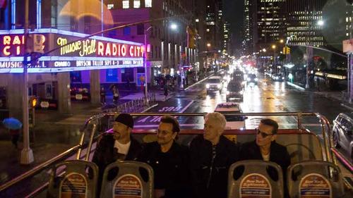 U2: Downtown, top deck