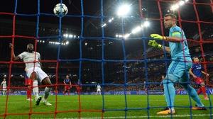Lukaku scores the third